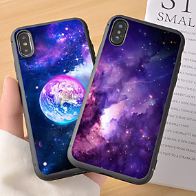 voordelige iPhone 11 Pro Max hoesjes-hoesje Voor Apple iPhone 11 / iPhone 11 Pro / iPhone 11 Pro Max Patroon Achterkant Hemel / Landschap TPU