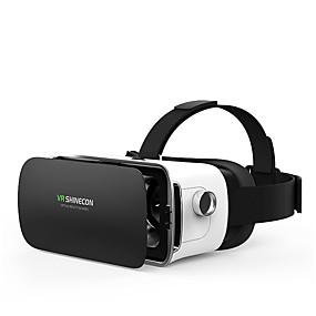 olcso VR Glasses-shinecon vr szemüveg virtuális valóság sisak vezeték nélküli bluetooth 3d szemüveg 3d szemüveg játékok video mozi 4.5-6 okostelefonhoz