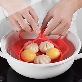 رخيصةأون أدوات & أجهزة المطبخ-1 قطعة المطبخ تبخير صينية الإبداعية للطي سيليكون أداة تبخير