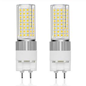 ieftine Becuri LED Corn-2pcs led becuri g12 16w led 120leds bec 160w g12 lumini de înlocuire incandescente led bec de porumb pentru depozitul stradal alb cald rece 85-265 v