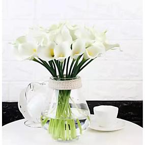 olcso Művirágok-művirágok 12 ágú klasszikus modern kortárs egyszerű stílusú calla liliom