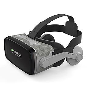 olcso VR Glasses-shinecon casque 9.0 vr virtuális valóság szemüveg 3d szemüveg google karton vr fülhallgató doboz 4,0-6,3 hüvelykes okostelefonhoz