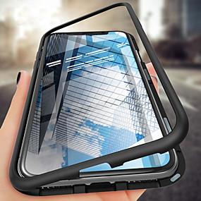 Недорогие Чехлы и кейсы для Galaxy Note 8-чехол для samsung galaxy s10plus / s10e / s10 / s9 / s9plus / s8plus / s8 / note10 / note10pro / note9 / note8 противоударный / прозрачный / магнитный чехол для всего тела корпус из цельного