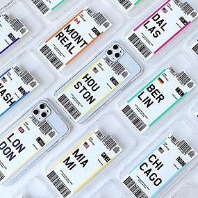 povoljno iPhone 11-Θήκη Za Apple iPhone 11 / iPhone 11 Pro / iPhone 11 Pro Max Otporno na trešnju Stražnja maska Prozirno / Crtani film TPU