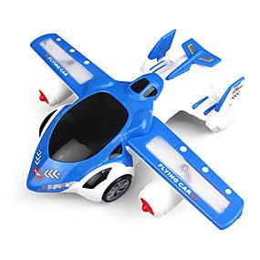 رخيصةأون ألعاب السيارات-لعبة الطائرات التحويلية ألعاب مضيئة التفاعل بين الوالدين والطفل قذيفة البلاستيك للأطفال الطفل الجميع ألعاب هدية
