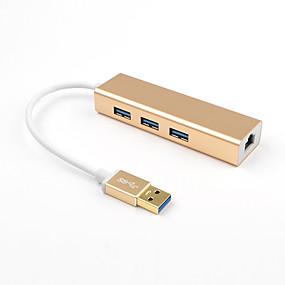 olcso USB hubok & switchek-LITBest ZT-S8U3 USB 3.0 to USB 3.0 / RJ45 USB Hub 4 Portok