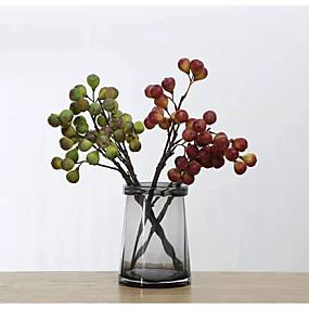 olcso Művirágok-művirágok 6 ágú klasszikus színpadon egyszerű stílusú gyümölcsök