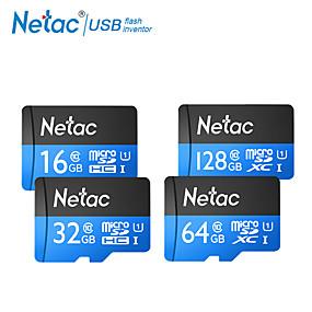 abordables Déstockage-netac tf carte 32gb micro sd card sdxc c10 mini carte mémoire 64gb 16gb sdhc sdxc uhs-i u1 appareil photo de classe 10 80mb / s