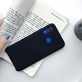 Недорогие Чехлы и кейсы для Huawei Honor-Кейс для Назначение Huawei Huawei Nova 4 / Huawei nova 4e / Huawei P20 Ультратонкий Кейс на заднюю панель Однотонный ТПУ / силикагель