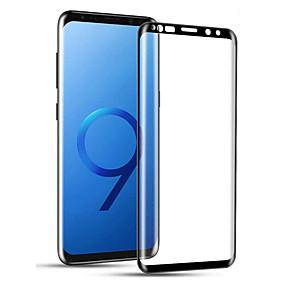 Недорогие Защитные плёнки для экранов Samsung-samsung s9 / s9 plus / note 9 / s8 / s8 plus / note 8 Защитная пленка для экрана 3D-пленка для полного покрытия