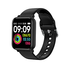 cheap New Arrivals-R16 Smart Bracelet Watch Heart Rate Blood Pressure Exercise Step Bluetooth Waterproof
