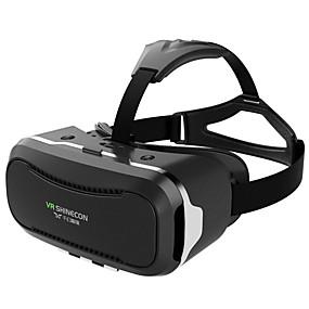 olcso VR Glasses-vr shinecon sc-g02 3,5-6 hüvelykes telefonhoz vr szemüveg virtuális valóság fejhallgató karton szemüveg sisak 3d vr casque box korszerűsített