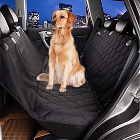 halpa Lemmikkieläinten Tarvikkeita-Lemmikit Koira Auton penkin suojus auton Katteet Vedenkestävä Kannettava Oxford kangas Puuvilla Musta