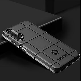 Недорогие Чехлы и кейсы для Huawei Mate-Кейс для Назначение Huawei Huawei Nova 4 / Huawei P20 / Huawei P20 Pro Защита от удара Кейс на заднюю панель Геометрический рисунок Силикон