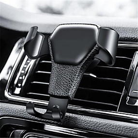 cheap Car Organizers-Gravity Car Phone Holder For Phone in Car Air Vent Clip Mount No Magnetic Mobile Phone Holder Cell Stand Support For iPhone GPS