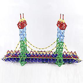povoljno Igračke i razonoda-103 pcs Magnetne igračke Magnetski blok Magnetski štapići Magnetske pločice Kocke za slaganje Metalic plastika Noviteti Dječji / Odrasli Dječaci Djevojčice Igračke za kućne ljubimce Poklon