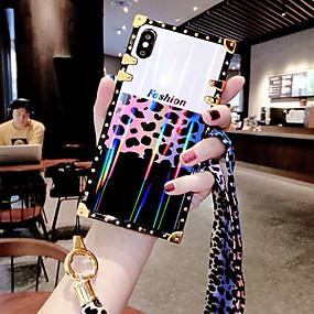 Недорогие Чехлы и кейсы для Galaxy Note 8-Кейс для Назначение SSamsung Galaxy S9 / S9 Plus / S8 Plus Защита от удара / С узором Кейс на заднюю панель Полосы / волосы / Слова / выражения силикагель