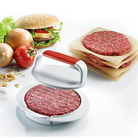 ieftine Bucătărie & Masă-presă de presă formă de hamburger mucegai diy burger producător presă de presă burger făcând burger unelte