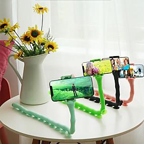 olcso asztallap-kreatív hernyó polip lusta mobiltelefon tartó meng ágyasztal többfunkciós élő önkioldó univerzális klip állvány univerzális fogás tv univerzális támogatás polc ágy vezetés