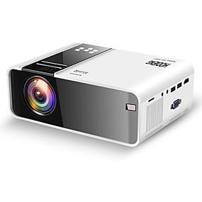 저렴한 프로젝터-Hodieng HDG86 HD 미니 프로젝터 TD90 네이티브 1280x720 마력 LED 안드로이드 와이파이 프로젝터 비디오 홈 시네마 3D HDMI 영화 게임 Proyector