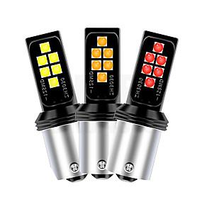 olcso Car Signal Lights-otolampara 2 db szuper fényes 60W 7440 7443 3156 3157 autó irányjelző lámpák három színben választható