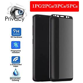 Недорогие Чехлы и кейсы для Galaxy S-антишпион 3d полная защита конфиденциальности конфиденциальности закаленное стекло для samsung galaxy s8 s9 плюс закаленное стекло