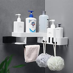 رخيصةأون أدوات الحمام-خطاف ضد الماء / قابل للتعديل / اللصق التلقي الحديث المعاصر / موضة ABS + PC 1PC فرشاة الأسنان وملحقاتها / الإسفنج و أجهزة التنظيف / ديكور الحمام
