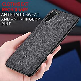 voordelige Galaxy S7 Edge Hoesjes / covers-hoesje Voor Samsung Galaxy S9 / S9 Plus / S8 Plus Mat Achterkant Effen tekstiili
