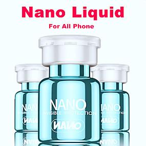 preiswerte Displayschutzfolien für iPhone 11 Pro-2 stücke nano flüssigkeit displayschutzfolie für iphone 11 pro max 7 8 plus samsung smartphone unsichtbare full cover universal 9 h screen film