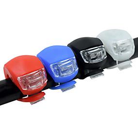 povoljno Svjetiljke-LED Svjetla za bicikle Prednje svjetlo za bicikl Stražnje svjetlo za bicikl Silikonsko biciklističko svjetlo Brdski biciklizam Bicikl Biciklizam Sigurnost Odsjeći Male veličine Džep cell baterije