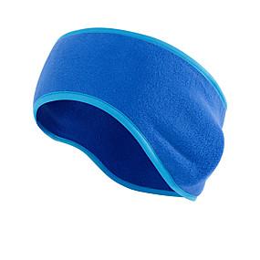 זול כובעים ובנדנות-בארה 'ב גברים הנשים תרמיים / חמים חסרי רוח לנשימה לריצה של כושר ריצה פלנל בצבע אחיד סתיו / סתיו אביב חורף