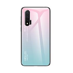 Недорогие Чехлы и кейсы для Huawei Mate-Кейс для Назначение Huawei Huawei Nova 3i / Huawei Nova 4 / Huawei P20 Защита от удара Кейс на заднюю панель Градиент цвета ТПУ