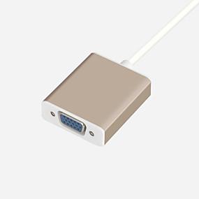 levne Audio kabel-HDMI Zasilacz Vysokorychlostní hliník / TPE Adaptér kabelu USB Pro Macbook