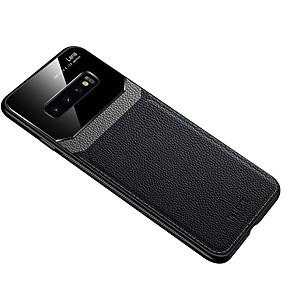 Недорогие Чехлы и кейсы для Galaxy Note 8-чехол для samsung карта сцены samsung galaxy s10 s10e s10 plus a10 a20 новая имитация кожи защиты глаз глаз серия ПК закаленное стекло фанера три в одном все включено чехол для мобильного телефона