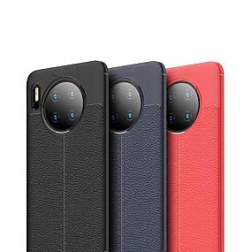 Недорогие Чехлы и кейсы для Huawei Honor-Кейс для Назначение Huawei Huawei Nova 4 / Huawei P20 / Huawei P20 Pro Защита от удара / Ультратонкий Кейс на заднюю панель Однотонный ТПУ