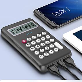 olcso 7500 - 10000 mAh-8000 mAh Kompatibilitás Power Bank külső akkumulátor 5 V Kompatibilitás 2 A Kompatibilitás Akkumulátor töltő QC 3.0 LED