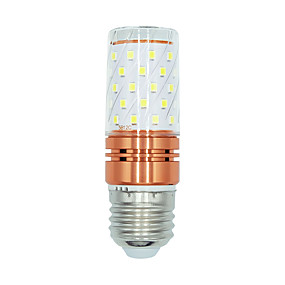 olcso LED kukorica izzók-brelong smd2835 60leds kukorica fény e27 220v fehér / meleg fehér / kettős színhőmérséklet 1db