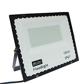 olcso LED projektorok-1db 150 W LED projektorok / Lawn Lights / Kültéri világítás Vízálló Fehér 85-265 V Kültéri világítás / Udvar / Kert 1 LED gyöngyök