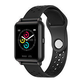 voordelige Slimme polsbandjes-p8 smart watch heren full touch smartwatch fitness tracker bloeddruk fitness tracker smart klok vrouwen smartwatch