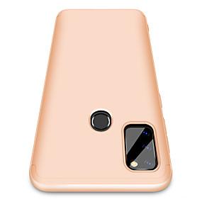 olcso Galaxy Note 9 tokok-Case Kompatibilitás Samsung Galaxy Note 9 / Huawei Note 10 / Galaxy A30 (2019) Ütésálló Fekete tok Egyszínű PC