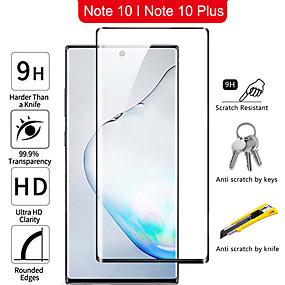 Недорогие Чехлы и кейсы для Galaxy Note-Самсунг Note10 серии изогнутые полноэкранный HD закаленное стекло защитная пленка