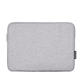 cheap Laptop Gadgets-13.3 Inch Laptop / 14 Inch Laptop / 15.6 Inch Laptop Sleeve Polyester Solid Colored for Men for Women Unisex Water Proof Shock Proof