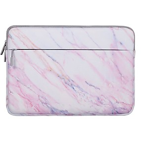 cheap Laptop Gadgets-13.3 14 15 Inch Laptop Sleeve Polyester Marble for Men for Women for Bus