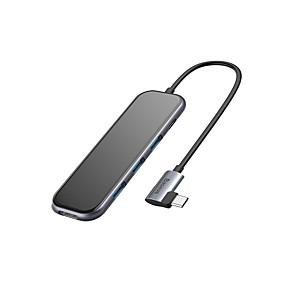 저렴한 휴대폰 모델로 검색 쇼핑하기-baseus 다기능 허브 (type-c-3xusb3.0hd4kpd) 회색