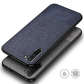 voordelige Galaxy S7 Edge Hoesjes / covers-hoesje Voor Samsung Galaxy S9 / S9 Plus / S8 Plus Mat Achterkant Effen tekstiili / TPU