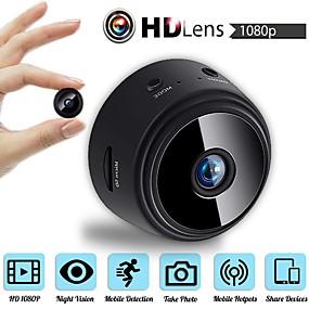 povoljno Potrošačka elektronika-mini bežična kamera 32g tf kartica hd aplikacija 25fps p2p ip wifi kamera 1080p detekcija pokreta noćnog vida 2 mp sigurnost ip kamera unutarnja podrška 64 gb / cmos / 50/60 / iphone os / android