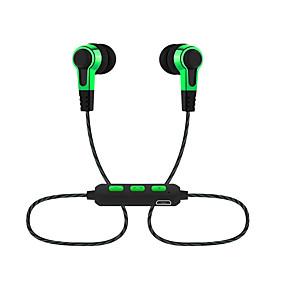 olcso Sport fülhallgatók-LITBest UNJ-DCT Nyakpánt fejhallgató Vezeték nélküli EARBUD Bluetooth 5.0 Zajkioltó Sztereó A hangerőszabályzóval