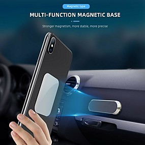 billige Køretøjsmonteret-mini universal magnetisk biltelefon holder magnetmontering smartphone holder 360 telefonhouder auto suporte celular carro