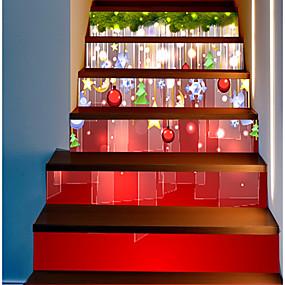 olcso Dekorációs matricák-dekoratív fali matricák - ünnep falimatrica karácsonyi díszek iroda / kültéri