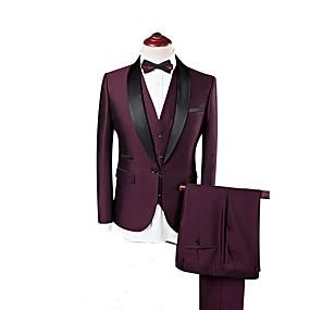levne Vlastní Tuxedo-vínové vlastní smoking